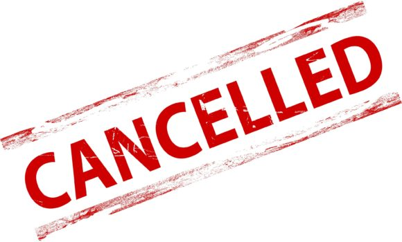 Open House Canceled